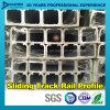 Sliding Track Rail Aluminium Aluminum 6063 T5 Profile with Customized Size Color