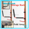 Kayak Rack Canoe Carrier Wall Hanger Bracket Paddle Holder Garage Surfboard Storage