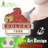 Factory Metal Logo Printing Association Attire Design Badge
