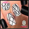 Turbulence Accent Nail Art Sticker