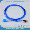Sc-FC Sm Duplex Armored Fiber Optic Patch Cord