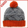 High Quality Fashion Winter Jacquard Crochet Hat