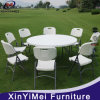 Cheap White Plastic Outdoor Round Folding Table
