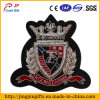 Custom Raised Embroidery Badge, OEM Garment Embroidered Patches