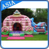 Outdoor Inflatable Princess Carriage Bouncer Castle/ Inflatable Princess Carriage Moonwalk