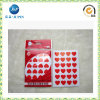 Hot Sales Love Shape Adheisve Sticker for Promotion Gift (JP-S085)