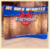 Curved Fabric Display Stand (8ft)