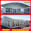 Solid Wall Tent Glass Walls Dome Shape Party 500 People Wedding Marquee Tent