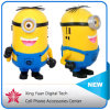 Wholesale - Minions Speaker Portable Despicable Me 2 Mini Speaker MP3/4 Player Amplifier Micro SD TF Card USB Disk Computer