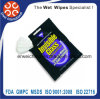 Single Wet Wipes for Glasses Cleaning