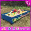 2016 New Design Wooden Kid Toy Model Train Set, Best Sale Wooden Kid Toy Train Set, High Quality Wooden Toy Train Set W04c037