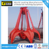 Four Rope Wirerope Mechanical Orange Peel Stone Grab