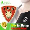 Iron Stamping Pin& Badge with Imitation Enamel Infilled