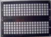 Tec-Sieve Square Hole Perforated Mesh Panels