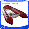 Clear V Bottom Inflatable Boat Rib Boat
