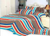 King Bed New Style Satin Fabric Flower Poly/Cotton Bedding Set/Linen/Sheet/Pillow