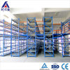 Multilayer Powder Coating Mezzanine Storage System for Car Parts