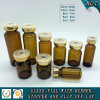 Amber Tubular Glass Vial for Pharmaceutical Injection