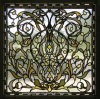 4-12mm Printed Decorative Stained Glass Church Windows Glass