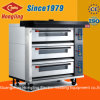 Luxurious 9 Tray Deck Oven Professional Bread Bakery Gas Oven