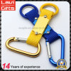 Promotional Custom Polyester Carabiner Lanyard Keychain