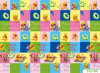 Baby Play Mat Stitching Style Lock Safety Material Practice Crawling for Baby 08d10