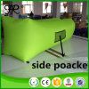 2017 Outdoor Polyester Lounger Portable Air Sofa with Side Pocket