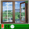 Low Price Aluminum Casement Door with Asian Standard, Outward Casement Window and Door with Tempered Glazing