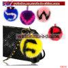 Promotional Items Rabbit Fur Keychain Fur Garment Corporate Gift (G8026)
