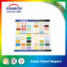 Customized Single Side Style Printing Color Chart