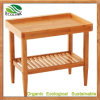 Bamboo Side Table Multi-Functional Square Table
