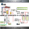 Small Apple, Orange, Pulp, Carbonated Complete Concentrated Fruit Juice Making Production Line Plant, Equipment Machine