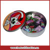 Sublimation Promotional Round Metal Candy Gift Box (TG02)