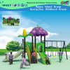 Outdoor Cartoon Flower Playground with Swing (HLD-ZS09)