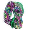 100% Chiffon Printed Silk Crinkle Shawl (ALJ10000406)