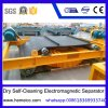 Dry Self-Cleaning Electromagnetic Separator for Sugar Quartz Mine Building Materials