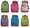 Cartoon Printing Canvas School Bag, Kid′s Backpack Bag for Children