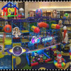 Space Theme Kiddie Ride Indoor Playground Set Commercial Play Zone
