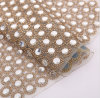 2017 Factory Wholesale Hot Fix Rhinestone Mesh Sheet for Decorate