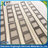 China Custom Die Cut 27mm*29mm Black Pet Mylar Adhesive Stickers