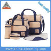 Polyester Nappy Mummy Mother Tote Baby Diaper Set Bag