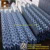 Hexagonal Hole Decorative Mesh / Perforated Metal Sheet