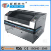 CCD Auto Positioning Dual Head Fabric Labels Woven Patch CO2 Laser Cutting Machine