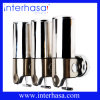 Bathroom Colorful ABS and Stailess Steel Free Soap Chrome Dispenser