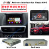 Car HD Video Interface Android GPS Navigator for 2014-2016 Mazda Cx-5, Bt/WiFi/DVD/Mirrorlink