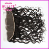 "2016 Hot Sale Natural Color Curly 8-24inch Length Can Be Customized 13X4"" Ear to Ear Lace Frontal"