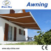 Metal Frame Polyester Retractable Window Awning B4100