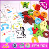 2015 Colorful Wooden Alphabet Block for Kid, Educational Wooden Alphabet Puzzle Toy, Hot Sale Wooden Learn Alphabet Blocks W14b064