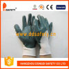 Ddsafety 2017 White Nylon with Green Nitrile Glove