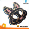 Promotional Item Black Metal Rabbit Head Lapel Pin Badge